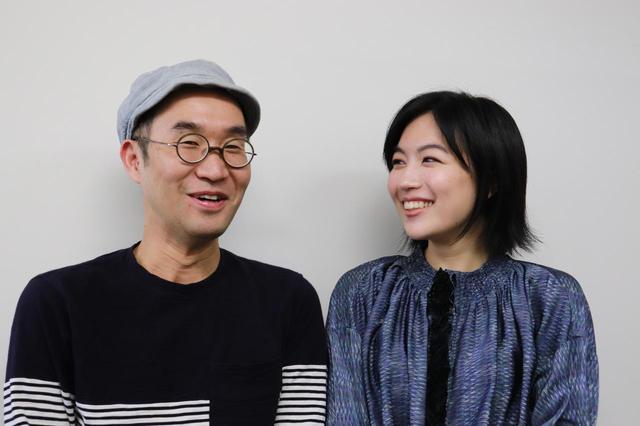 画像: 左より野尻克己監督&木竜麻生さん