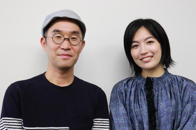 画像: 左より野尻克己監督、木竜麻生さん