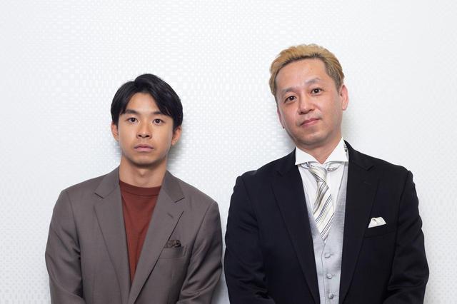 画像: 左より太賀さん、御法川修監督、