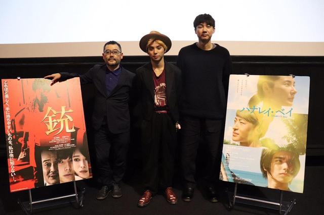 画像2: 二つの映画の村上虹郎の魅力を松永大司監督と武正晴監督が語る夢の鼎談が実現!『ハナレイベイ』&『銃』コラボレーショントークイベント開催!