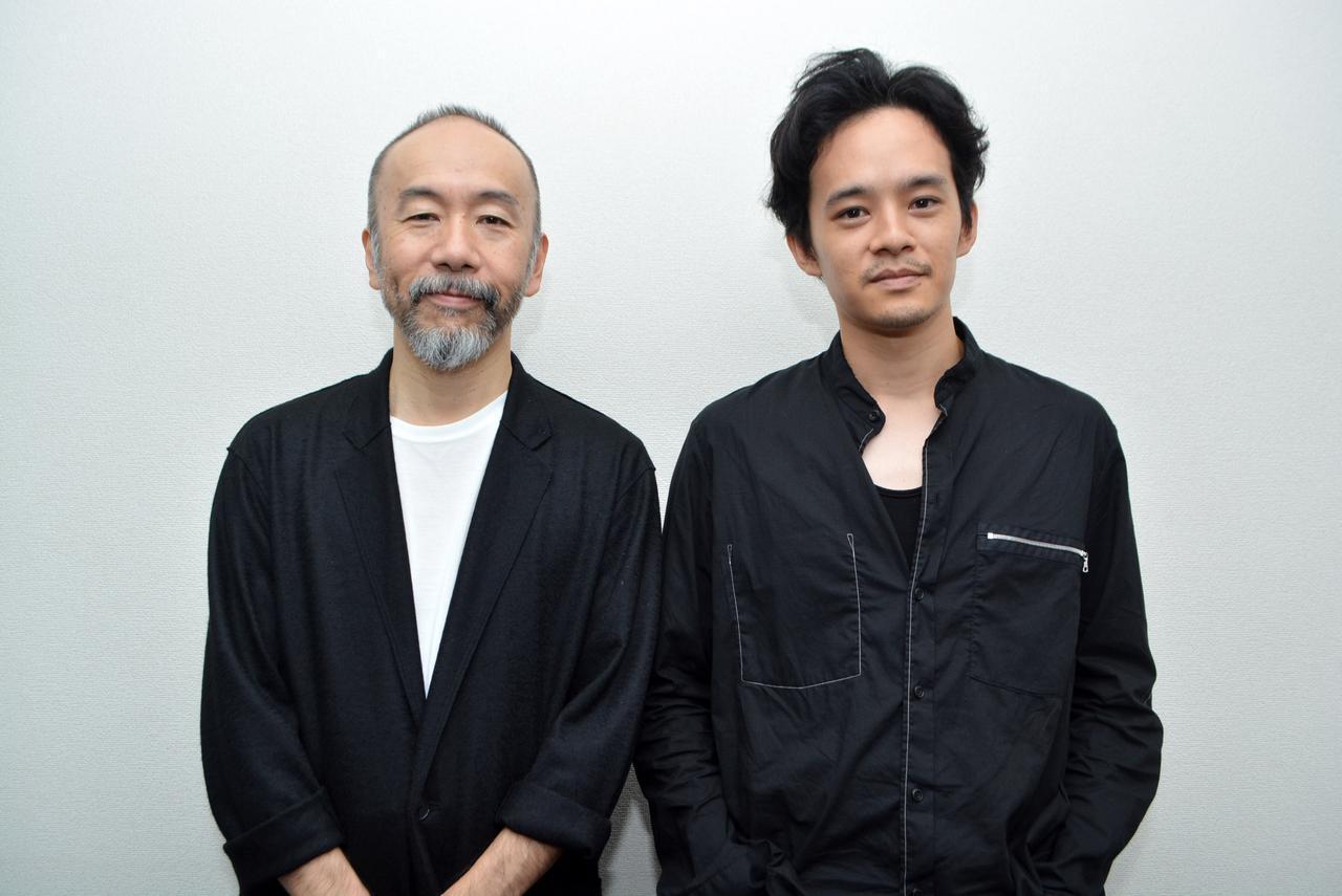 画像: 左より塚本晋也監督と池松壮亮さん