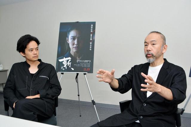 画像3: この映画は僕と池松さん二人でセッションして 作り上げた映画だと思っています。