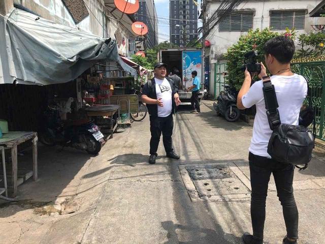 """画像2: 現地で撮影してきた貴重なビデオ映像を交えながら、 丸山氏が語り尽くした""""微笑みの国""""タイのデンジャラスな一面とは…?"""