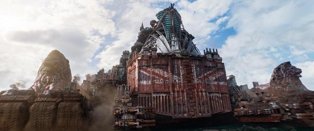画像1: 17の国と地域で初登場1位を堂々獲得!世界最高峰のVFX技術で観客を圧倒!ピーター・ジャクソンの新たなる傑作の誕生『移動都市/モータル・エンジン』