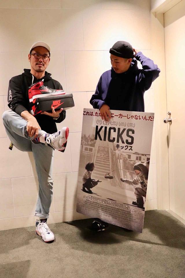 画像2: 左より宮崎大祐監督、三宅唱監督