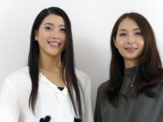 画像: (左)2018ミス日本グランプリ 市橋礼衣さん(右)一般社団法人ミス日本協会 理事 和田あいさん