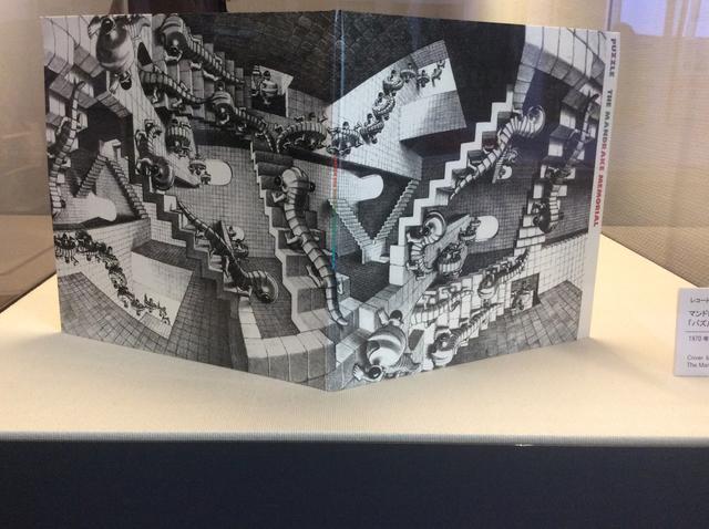 画像1: ミラクルエッシャー展 特別展示 atあべのハルカス美術館 レコードジャケット マンドレイク・メモリアル「パズル」1970年発売の復刻版 photo©︎cinefil