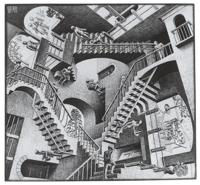 画像: 《相対性》1953年