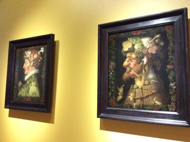 画像: 左:《春》ジュゼッペ・アルチンボルド 1573年 右:《秋》ジュゼッペ・アルチンボルド   1573年 photo©︎cinefil