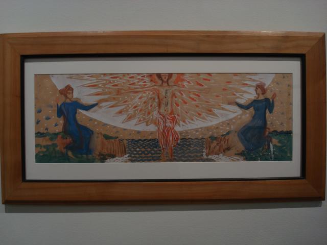 画像: フェルディナント・アンドリ 天使と二人の人物(2)1905年頃 京都国立近代美術館 ⓒcinefil
