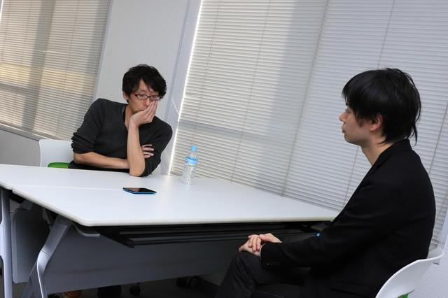 画像1: 左より田中監督、園田監督 photo by  tomoe otsu