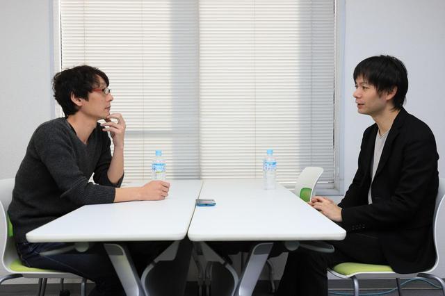 画像2: 左より田中監督、園田監督 photo by  tomoe otsu