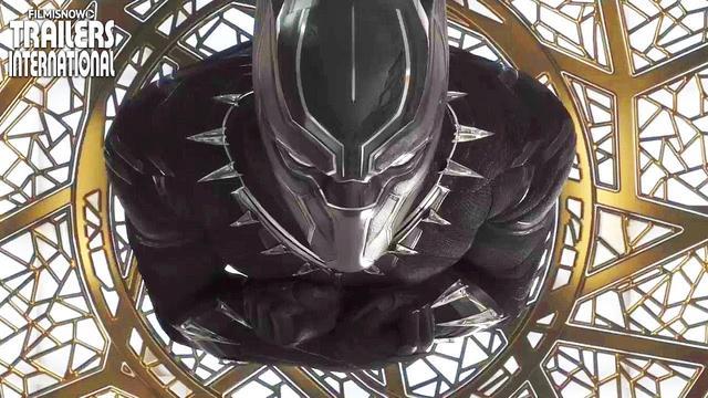 画像: 「ブラックパンサー」予告編 youtu.be