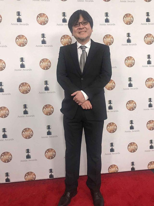 画像: 喜びの細田守監督