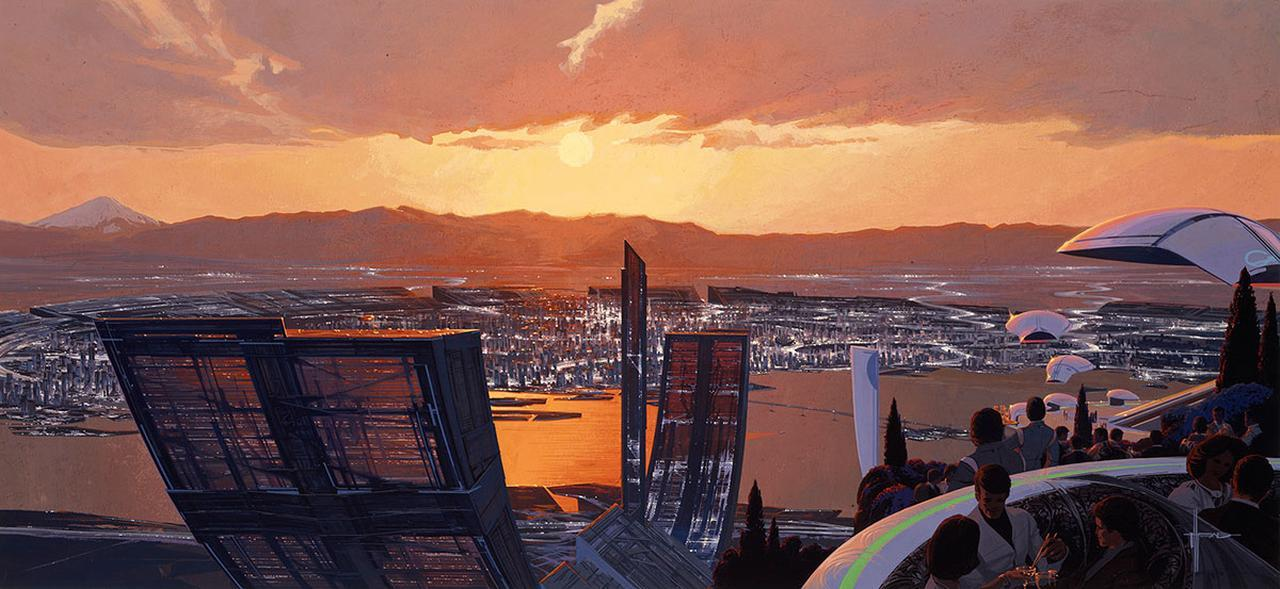 画像: TOKYO 2040 © Syd Mead, Inc.