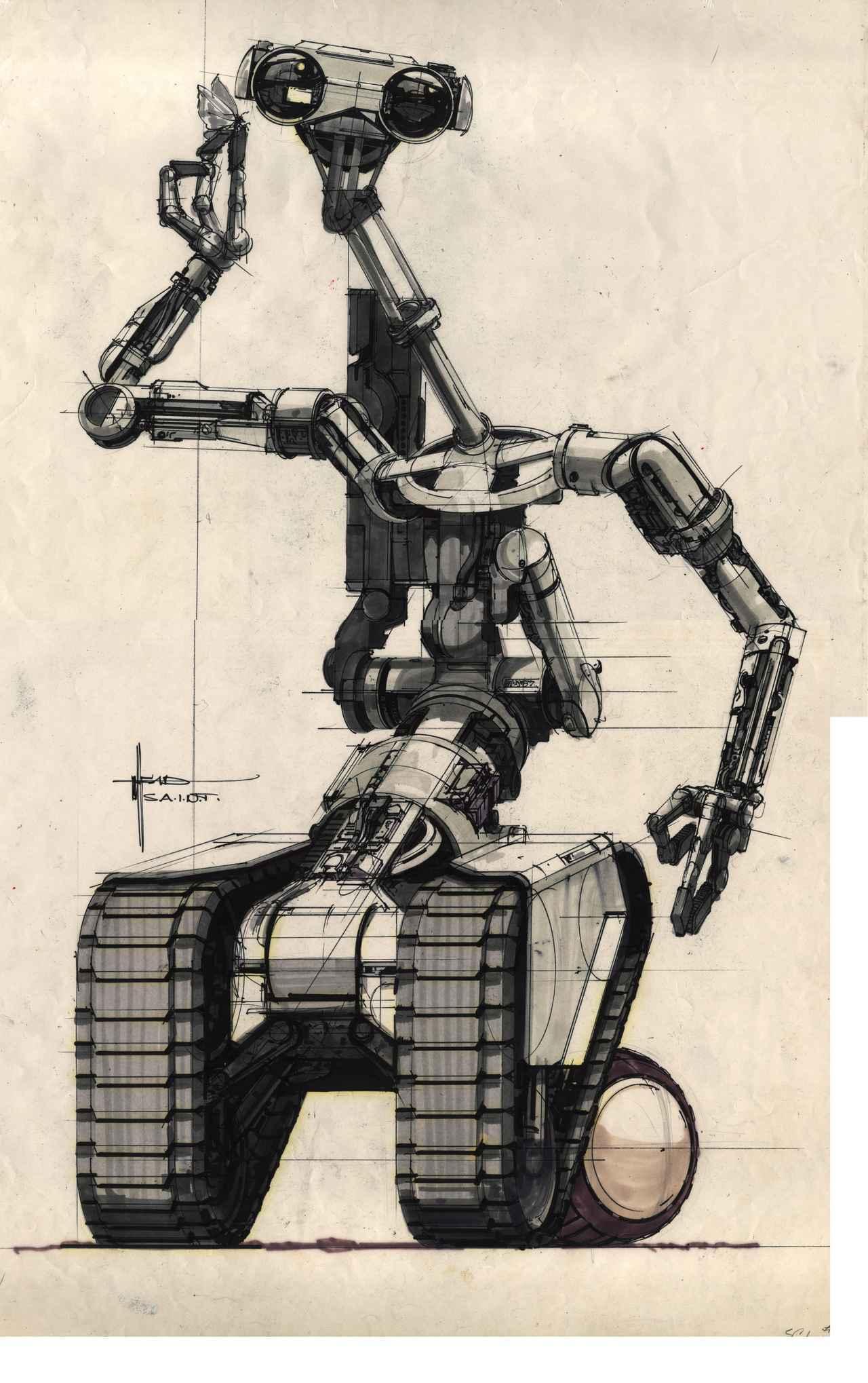 画像: Johnny Five Robot 『ショート・サーキット』© 2007 The Weinstein Company LLC. All Rights Reserved.
