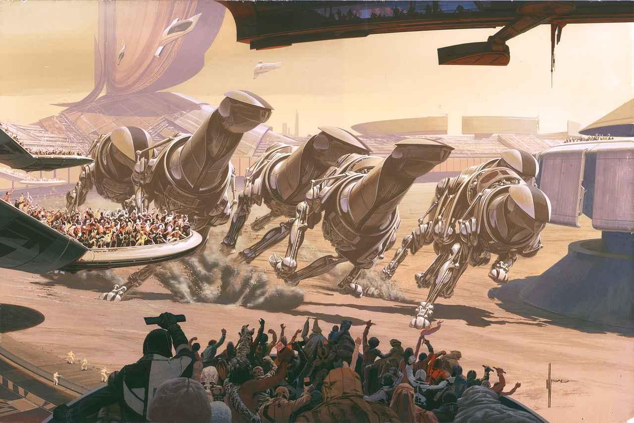 画像: Running of the Six Drgxx © Syd Mead, Inc