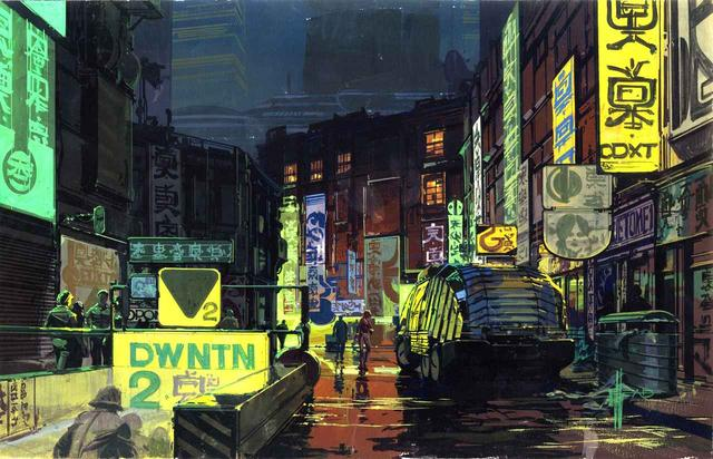 画像: Downtown City Scape 『ブレードランナー』© 1982 The Blade Runner Partnership. All Rights Reserved.