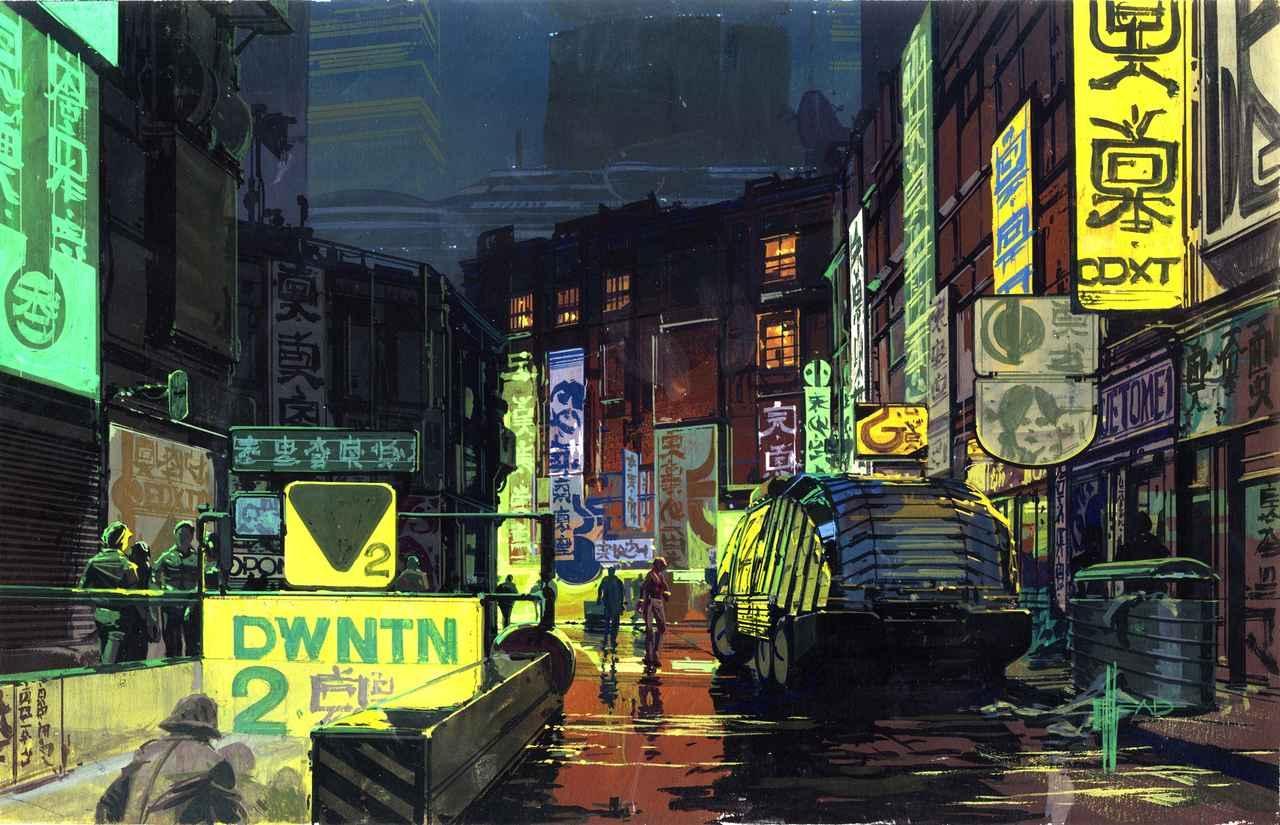 画像: Downtown City Scape 『ブレードランナー』© 1982 The Blade Runner Partnership. All Rights Reserved.