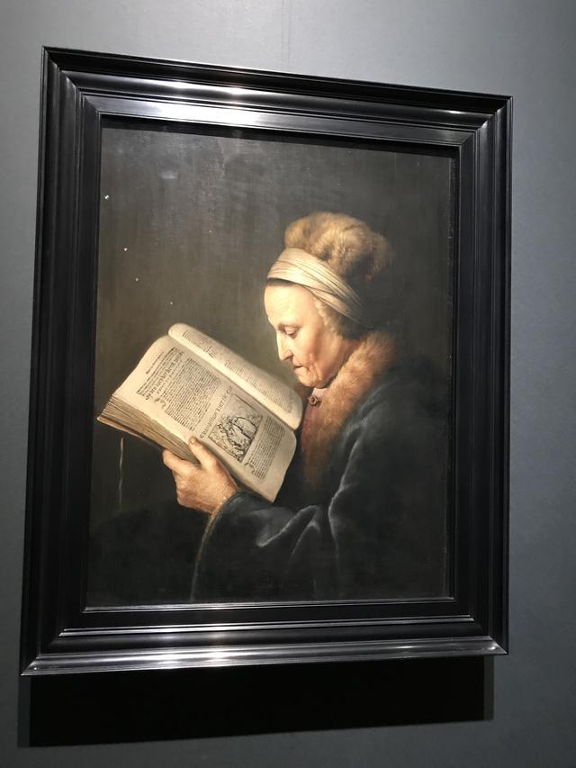 画像: ヘラルト・ダウ《本を読む老女》1631-1632年頃 アムステルダム国立美術館 Rijksmuseum. A.H. Hoekwater Bequest, The Hague, 1912 ©cinefil
