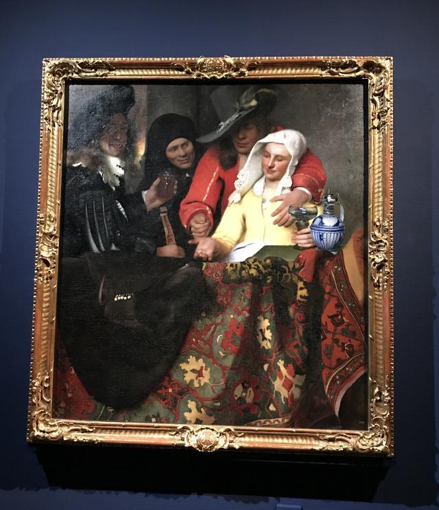 画像: ヨハネス・フェルメール 《取り持ち女》 1656年 油彩・カンヴァス 143x130cm ドレスデン 国立古典絵画館 bpk / Staatliche Kunstsammlungen Dresden / Herbert Boswank / distributed by AMF  ©cinefil