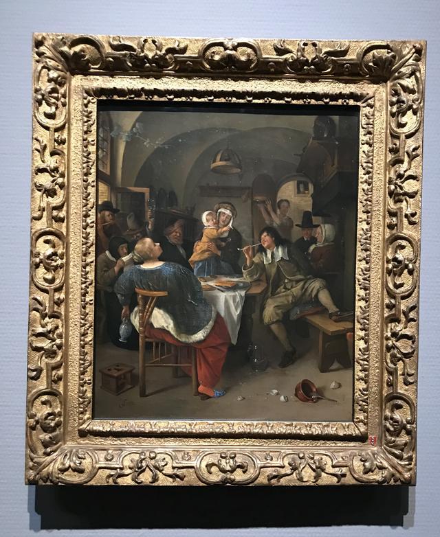 画像: ヤン・ステーン《家族の情景》1665-1675年頃 アムステルダム国立美術館 Rijksmuseum. On loan from the City of Amsterdam (A. van der Hoop Bequest)  ©cinefil