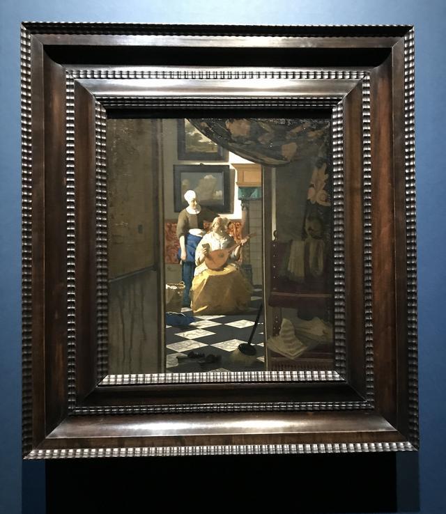 画像: ヨハネス・フェルメール 《恋文》 1669-1670年頃 油彩・カンヴァス 44×38.5cm アムステルダム 国立美術館Rijksmuseum. Purchased with the support of the Vereniging Rembrandt, 1893 ©cinefil