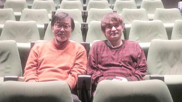 画像: 左より平田満さんと榊原監督