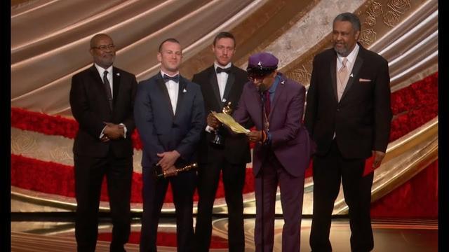 画像: Watch Spike Lee's Oscars 2019 Speech for BLACKkKLANSMAN youtu.be