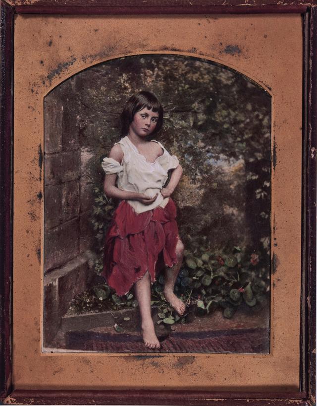 画像: チャールズ・ラト ウィッジ・ドッドソン 「アリス・リデルの肖像」(複製)From The New York Public Library