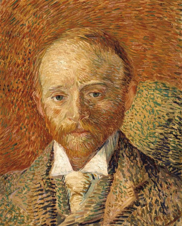 画像: フィンセント・ファン・ゴッホ《アレクサンダー・リードの肖像》 1887年 油彩・板、ケルヴィングローヴ美術博物館蔵 ⓒCSG CIC Glasgow Museums Collection