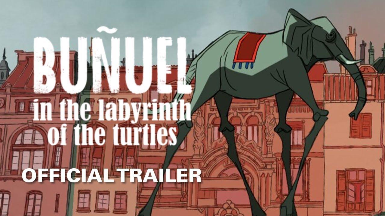 画像: Buñuel in the Labyrinth of the Turtles [Official Trailer, GKIDS - Coming Soon] youtu.be