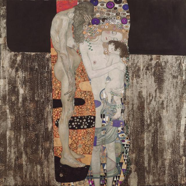画像: グスタフ・クリムト《女の三世代》 1905年 油彩、カンヴァス 171×171cm ローマ国立近代美術館 Galleria Nazionale d'Arte Moderna e Contemporanea, Roma