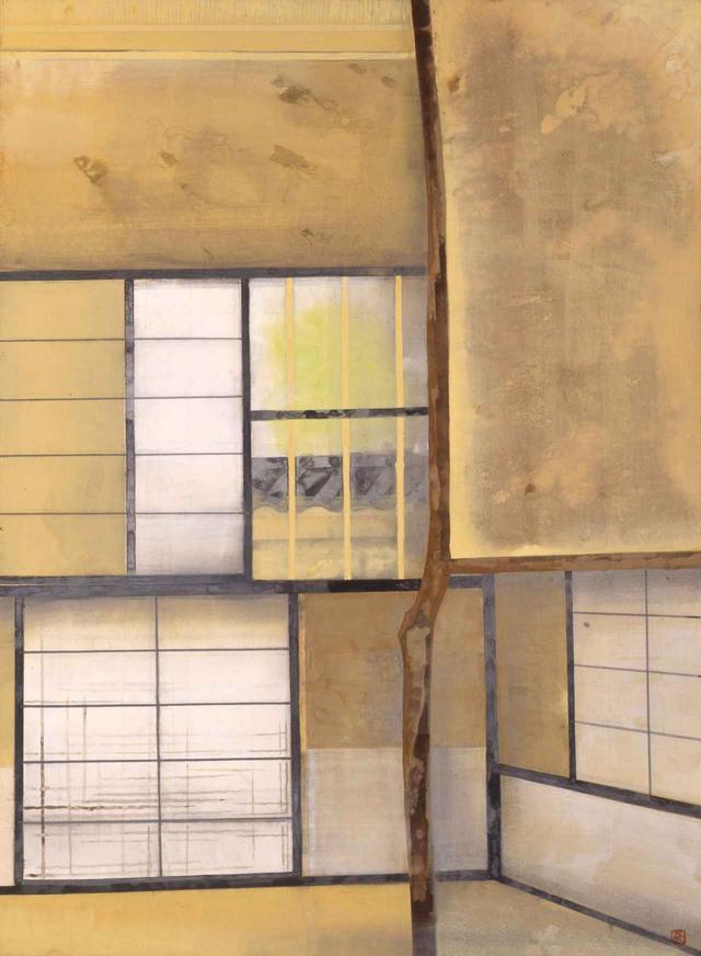 画像: 奥村土牛《茶室》1963(昭和38)年 紙本・彩色 山種美術館 74 歳作