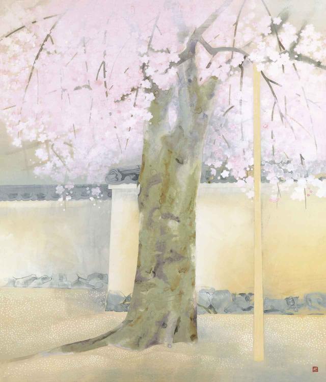 画像: 奥村土牛《醍醐》1972(昭和47)年 紙本・彩色 山種美術館 83 歳作