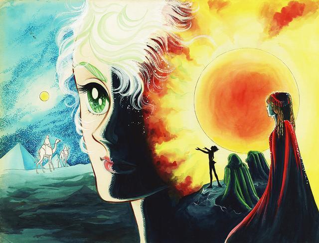 画像: 『ファラオの墓』より「灼熱の祈り」©️竹宮惠子