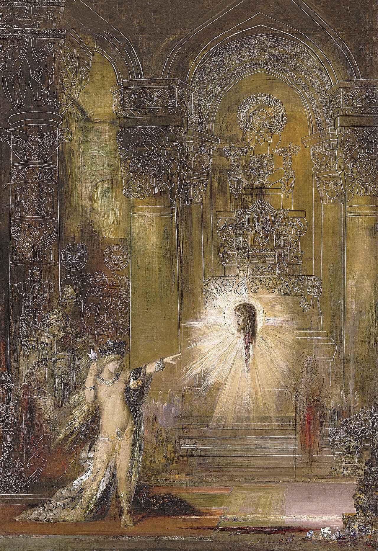 画像: 《出現》 1876年頃 油彩/カンヴァス