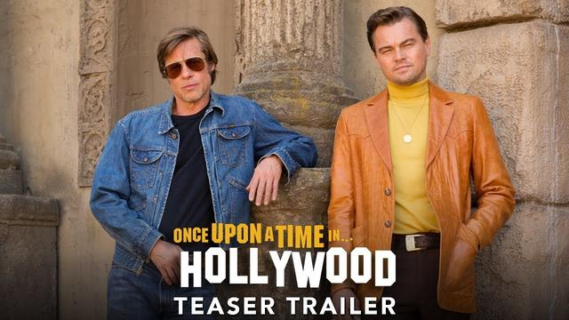 画像: ONCE UPON A TIME IN HOLLYWOOD - Official Teaser Trailer (HD) www.youtube.com