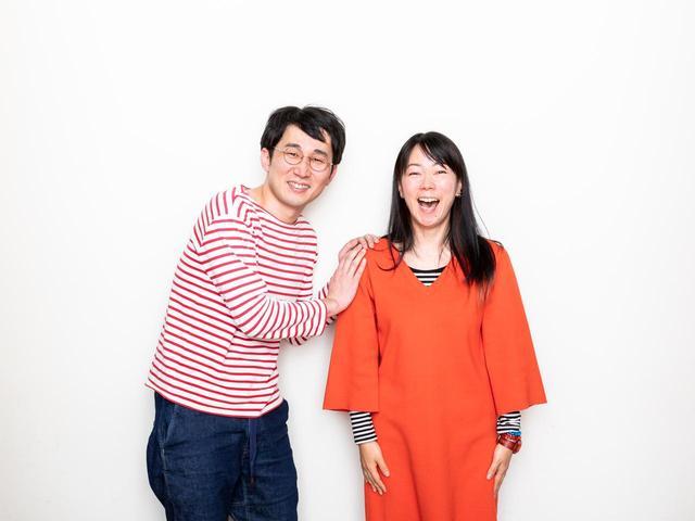 画像4: 左より じろう(シソンヌ)さん、大九明子監督