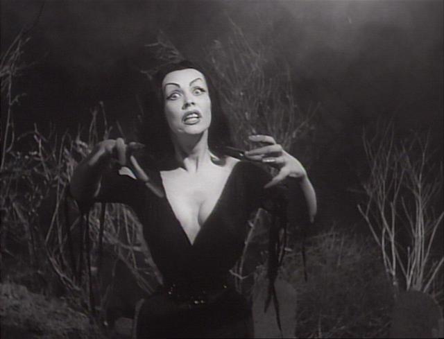 画像: 『プラン9・フロム・アウタースペース』(1956 年/アメリカ映画/76 分/35 ミリ) 監督:エド・ウッド 出演:トー・ジョンソン、バンパイラ、ベラ・ルゴシ