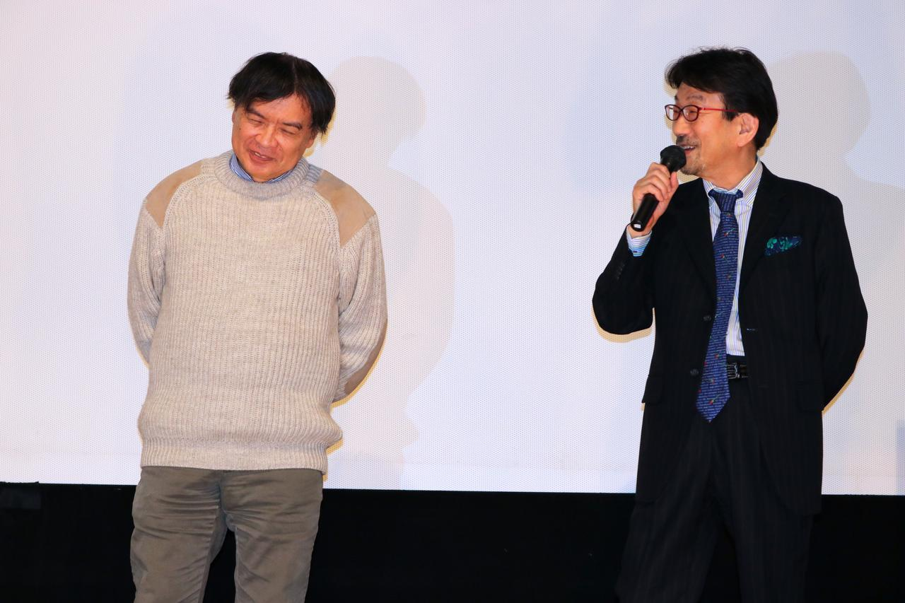 画像: 左より片渕須直監督、真木太郎プロデューサー