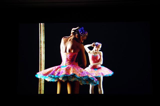 画像: 「Odile and Odette(オディールとオデット)」2005年 ビデオスティル- photo(C)mori hidenobu -cinefil art review