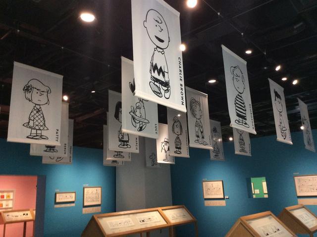 画像3: 「スヌーピーミュージアム展」展示風景 グランフロント大阪 北館 ナレッジキャピタル イベントラボ ©Peanuts Worldwide LLC photo©︎cinefil