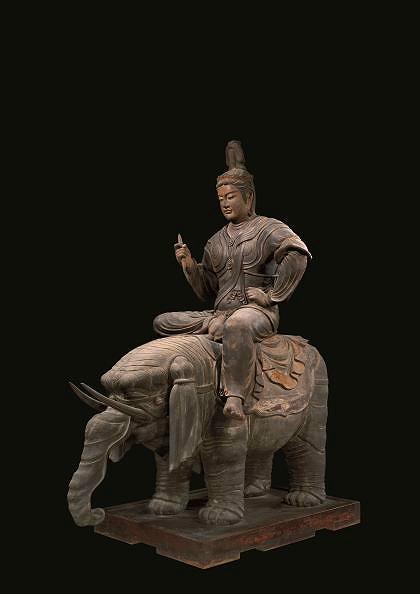 画像: 国宝《帝釈天騎象像》平安時代・承和6年(839) 東寺蔵
