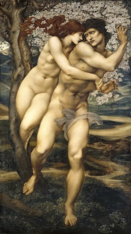 画像: エドワード・バーン=ジョーンズ《赦しの樹》1881-82年、油彩/カンヴァス、186×111 cm、リヴァプール国立美術館、レディ・リーヴァー・アート・ギャラリー ©National Museums Liverpool, Lady Lever Art Gallery