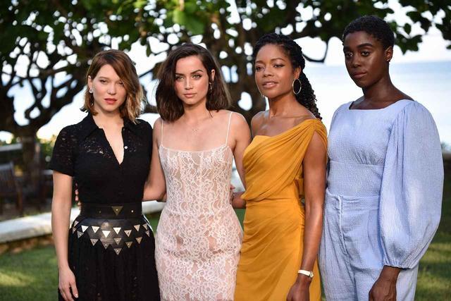 画像: 左より、レア・セドゥ、アナ・デ・アルマス、ナオミ・ハリス、ラッシャーナ・リンチ RUSH PHOTOGRAPHY JA