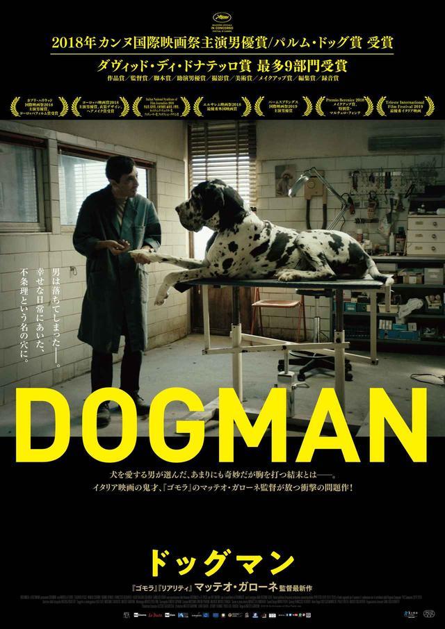 画像: 犬好きな心優しい男の行く末は―。ポスタービジュアルが解禁!