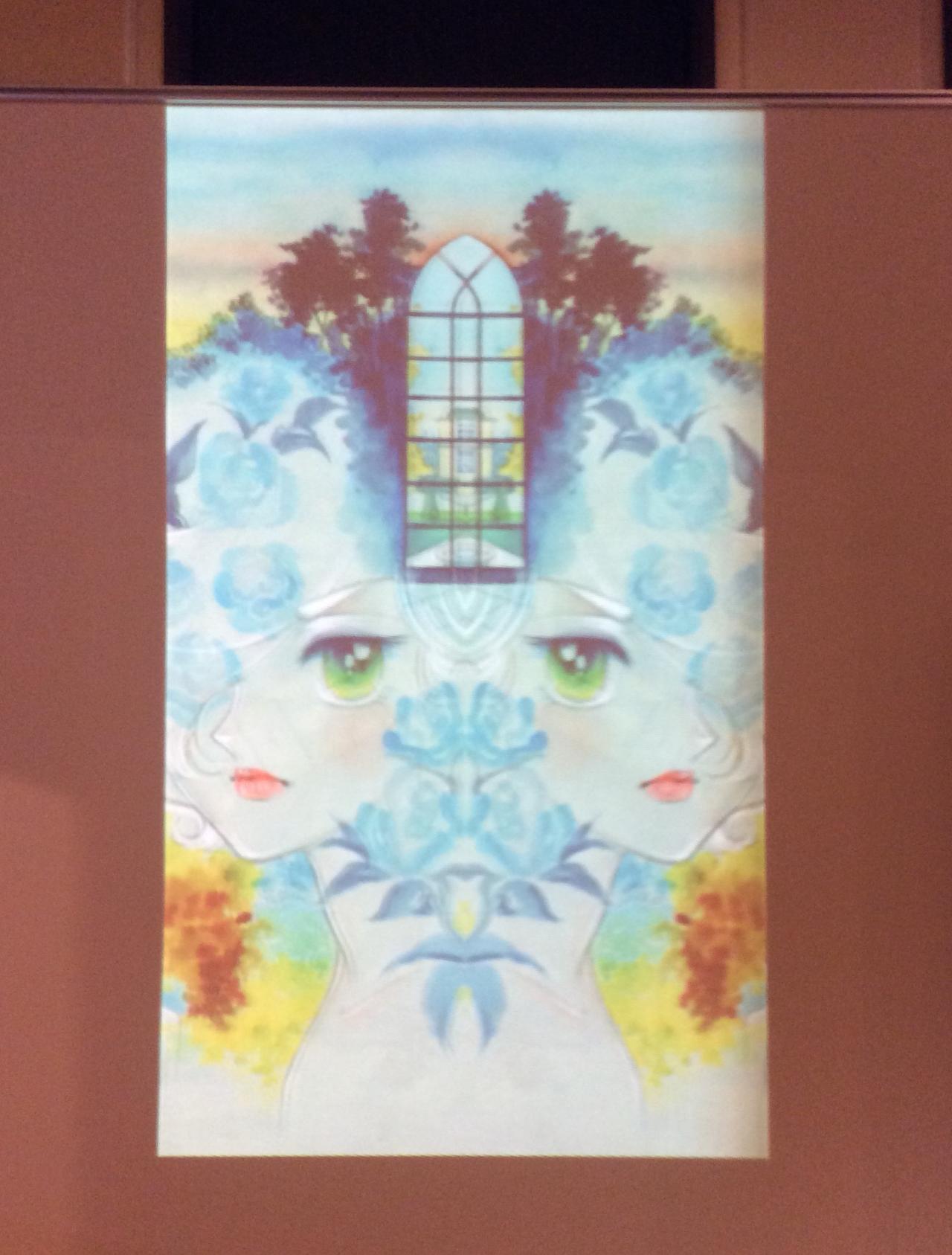 画像: カレイドスコープ映像 竹宮惠子  カレイドスコープ 50th Anniversary 京都国際マンガミュージアム会場 photo©︎cinefil