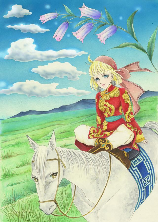 画像: 『天馬の血族』より「碧い草原」©️竹宮惠子