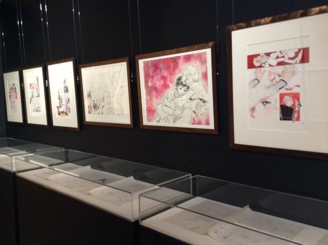 画像: 第1章 展示 竹宮惠子 カレイドスコープ 50th Anniversary   京都国際マンガミュージアム会場 photo©︎cinefil